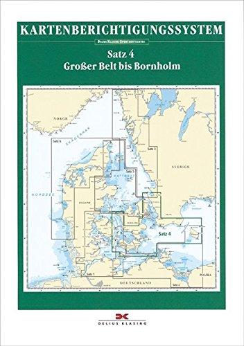 9783768839440: Sportbootkarten Satz 04 Großer Belt bis Bornholm Berichtigung (2015)