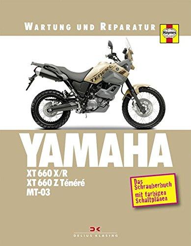 9783768853361: Yamaha XT 660 X/R, XT 660 Z Ténéré & MT-03