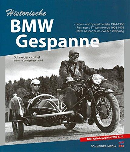Historische BMW-Gespanne: Horst Ihling
