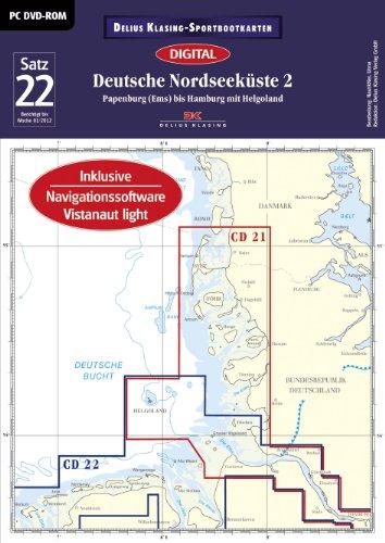 9783768898461: Sportbootkarten : Satz 22 : Deutsche Nordseeküste 2 (Ausgabe 2012) [import allemand]