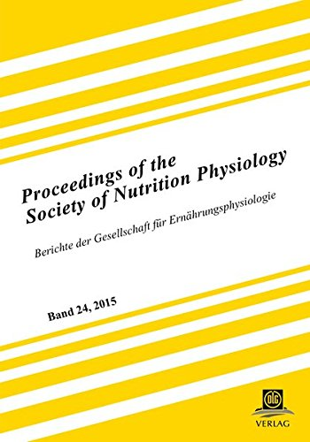 9783769041088: Proceedings of the Society of Nutrition Physiology Band 24