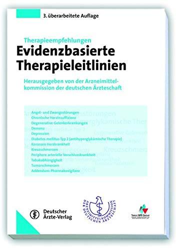9783769105391: Evidenzbasierte Therapieleitlinien: Herausgegeben von der Arzneimittelkommission der deutschen Ärzteschaft
