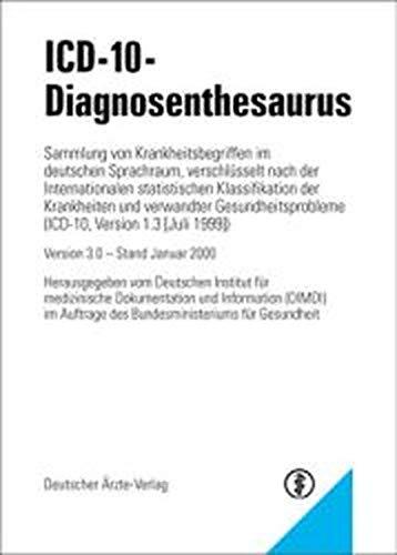 9783769159097: ICD-10-Diagnosethesaurus