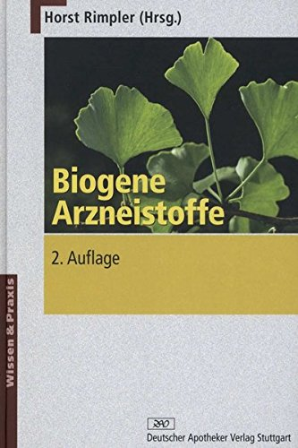9783769224139: Biogene Arzneistoffe