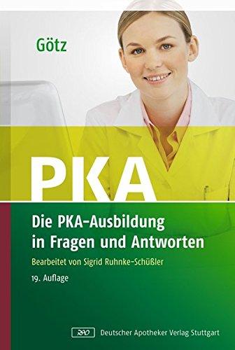 9783769244410: Die PKA-Ausbildung in Fragen und Antworten