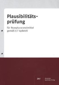 Plausibilitäts-Check Rezeptur mit Plausibilitätsprüfungs-Block - Andreas S. Ziegler