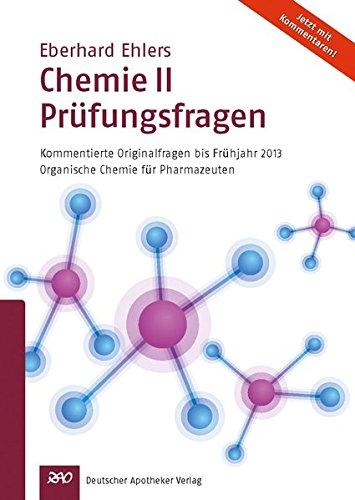 Chemie II - Prüfungsfragen: Eberhard Ehlers