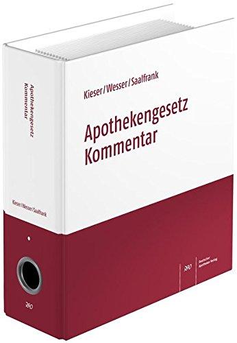 9783769260830: Apothekengesetz Kommentar