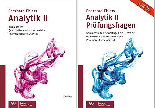 Analytik II - Kurzlehrbuch und Prüfungsfragen: KOMPLETT (Paperback): Eberhard Ehlers