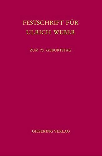 Festschrift für Ulrich Weber: Bernd Heinrich