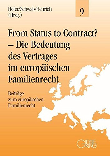 From Status to Contract?: Sibylle Hofer