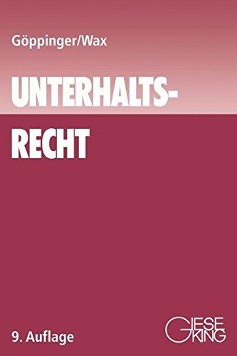 Unterhaltsrecht: Hans G�ppinger