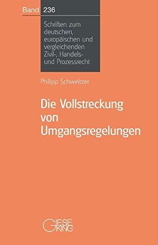 Die Vollstreckung von Umgangsregelungen: Philipp Schweitzer