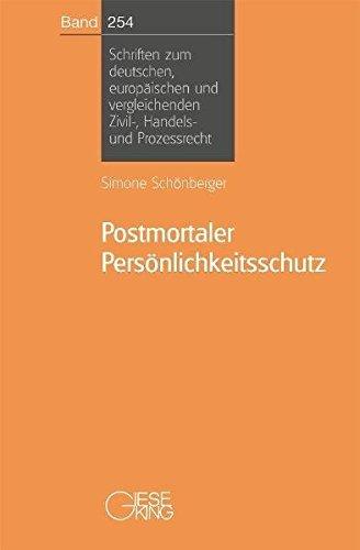 Postmortaler Persönlichkeitsschutz: Simone Schönberger