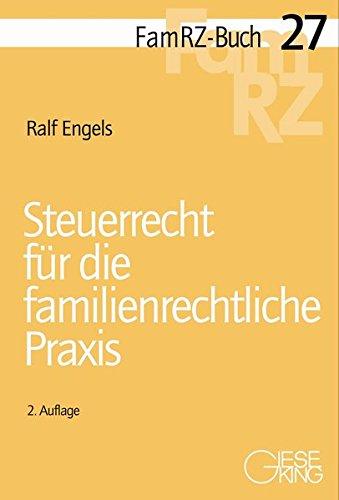 9783769411416: Steuerrecht für die familienrechtliche Praxis