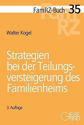 9783769411591: Strategien bei der Teilungsversteigerung des Familienheims
