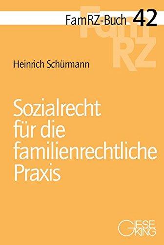 9783769411652: Sozialrecht für die familienrechtliche Praxis
