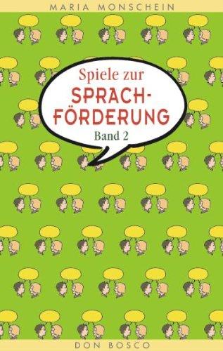 9783769811070: Spiele zur Sprachförderung, Bd.2