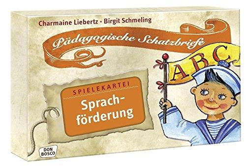 9783769817102: Sprachförderung: Pädagogische Schatzbriefe - Spielekartei
