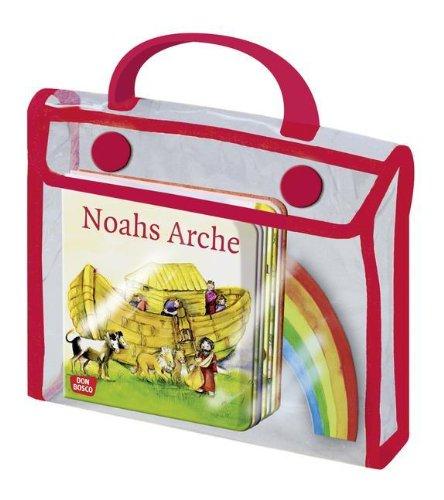 9783769817690: Sieben Geschichten aus dem Alten Testament (Tasche mit 7 Büchlein + Arche-Noah-Mobile)