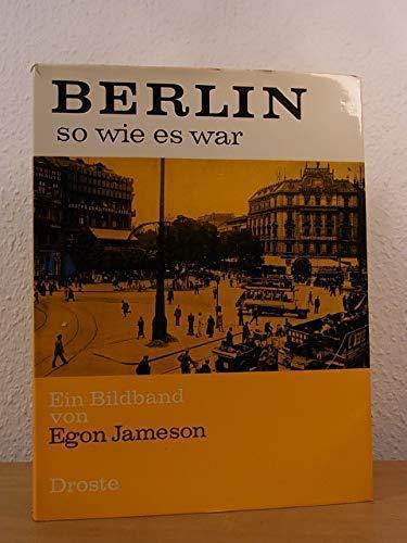 9783770001897: Berlin so wie es war