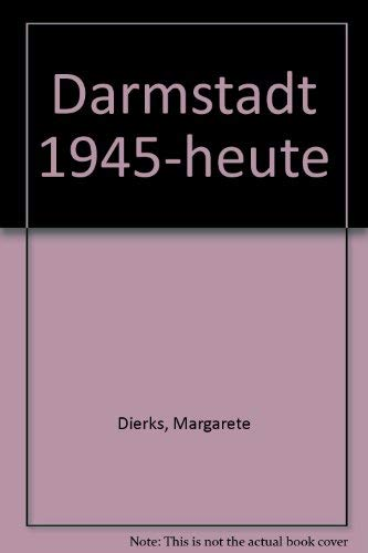 9783770003525: Darmstadt 1945-heute