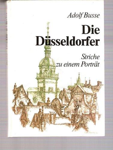 9783770004768: Die Düsseldorfer: Striche zu einem Porträt