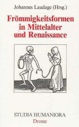 9783770008469: Frömmigkeitsformen in Mittelalter und Renaissance.