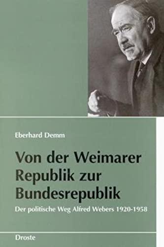 Von der Weimarer Republik zur Bundesrepublik: Eberhard Demm