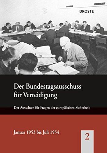 Der Bundesausschuss für Verteidigung 02: Bruno Thoß