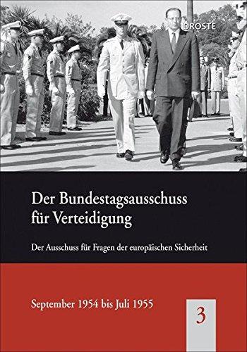 Der Bundestagsausschuss für Verteidigung 03: Der Ausschuss für Fragen der europä...