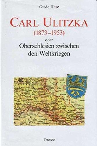 9783770018888: Carl Ulitzka (1873-1953)