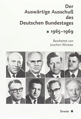 9783770052721: Der Auswärtige Ausschuss des Deutschen Bundestages 1965-1969, 2 Halbbde. u. CD-ROM