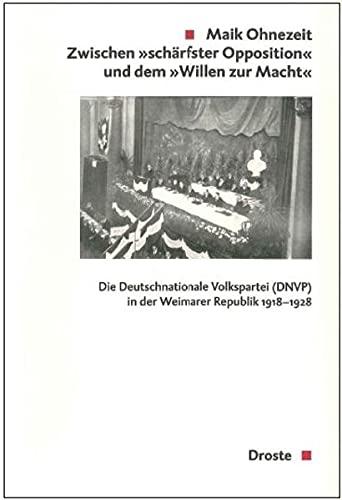 """Zwischen """"schärfster Opposition"""" und dem """"Willen zur Macht"""": Maik Ohnezeit"""
