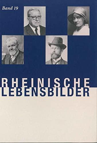 9783770076406: Rheinische Lebensbilder, Band 19