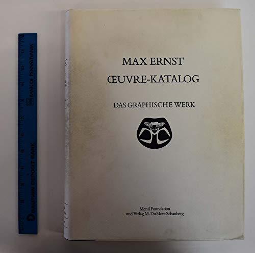 9783770106066: Max Ernst: Oeuvre-Katalog, 1906-1963, the Complete Paintings, Drawings, Sculpture, Frottages and Collages, FIVE (5) VOLUME SET [Catalogue Raisonné, Catalogue Raisonne, Catalog Raisonnee]