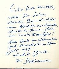 9783770110780: Texte zur Musik 1970-1977. Werk-Einführungen. Elektronische Musik, Weltmusik, Vorschläge und Standpunkte, Zum Werk Anderer, Bd 4