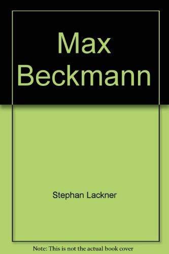 9783770111237: Max Beckmann
