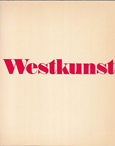 9783770112920: Westkunst: Zeitgenössische Kunst seit 1939 (German Edition)
