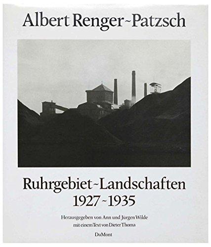 9783770113781: Ruhrgebiet-Landschaften, 1927-1935 (German Edition)