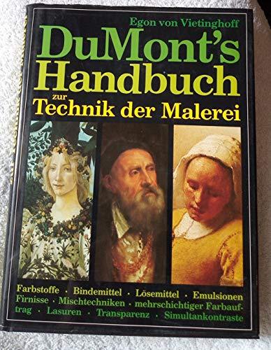 9783770115198: DuMont's Handbuch zur Technik der Malerei
