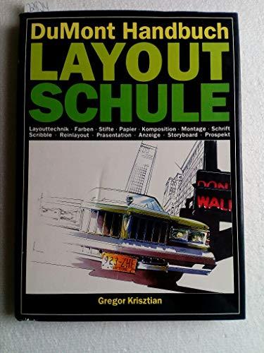 9783770117925: Handbuch Layout-Schule. Layouttechnik - Farben - Stifte - Papier