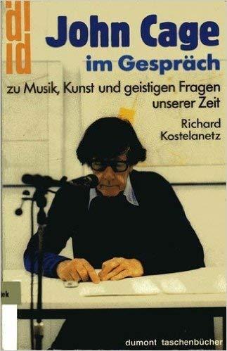 9783770122790: John Cage im Gespräch
