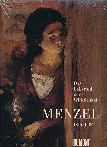 9783770137046: Menzel (1815-1905). Das Labyrinth der Wirklichkeit