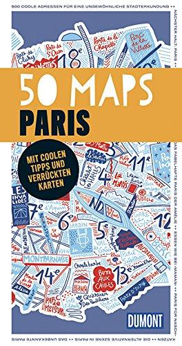 9783770188635: DuMont 50 Maps Paris