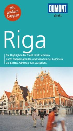DuMont direkt Reiseführer Riga - Jochen, Könnecke,