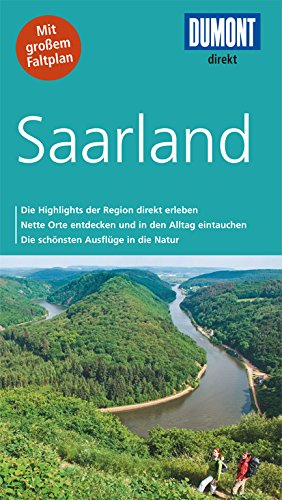 9783770196432: DuMont direkt Reiseführer Saarland: Mit großem Faltplan