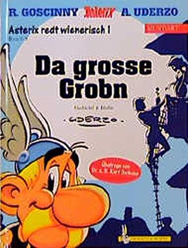 9783770404735: Asterix redt wienerisch - Mundart - Geb, Bd.8, Da große Grobn