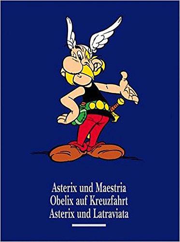9783770406104: Asterix Gesamtausgabe 11: Asterix und Maestria / Obelix auf Kreuzfahrt / Asterix und Latraviata