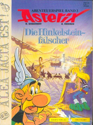 9783770410828: ASTERIX Die Hinkelsteinfälscher (Abenteuerspiel Band 3)